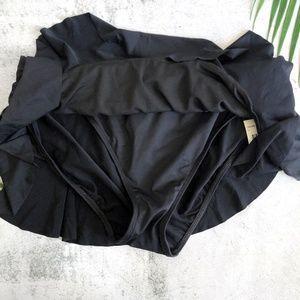 Lauren Ralph Lauren Swim - Ralph Lauren   Shirred Flirty Swim Skirt Bottom 12